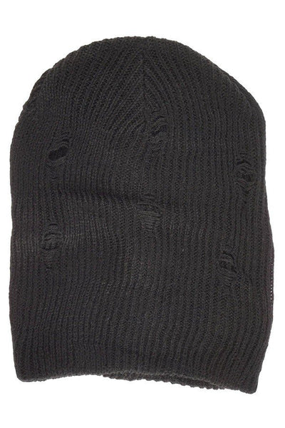 Deconstructed Unisex Slouchy Beanie