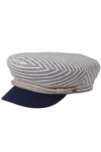 Striped Sailor Hat