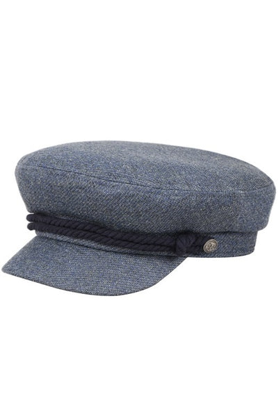 Denim Sailor Hat