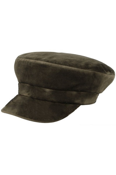 Velvet Sailor Hat