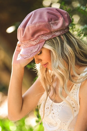 Velvet Lace Sailor Hat