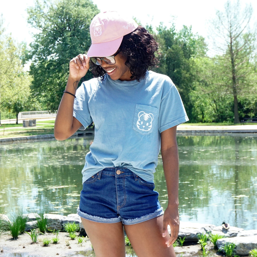 Ice Blue Short Sleeve Tee