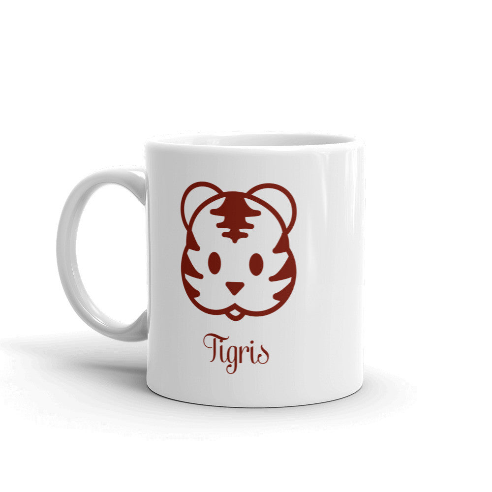 Maroon 11 oz. Coffee Mug For Tiger Lover, Pinterest Tiger