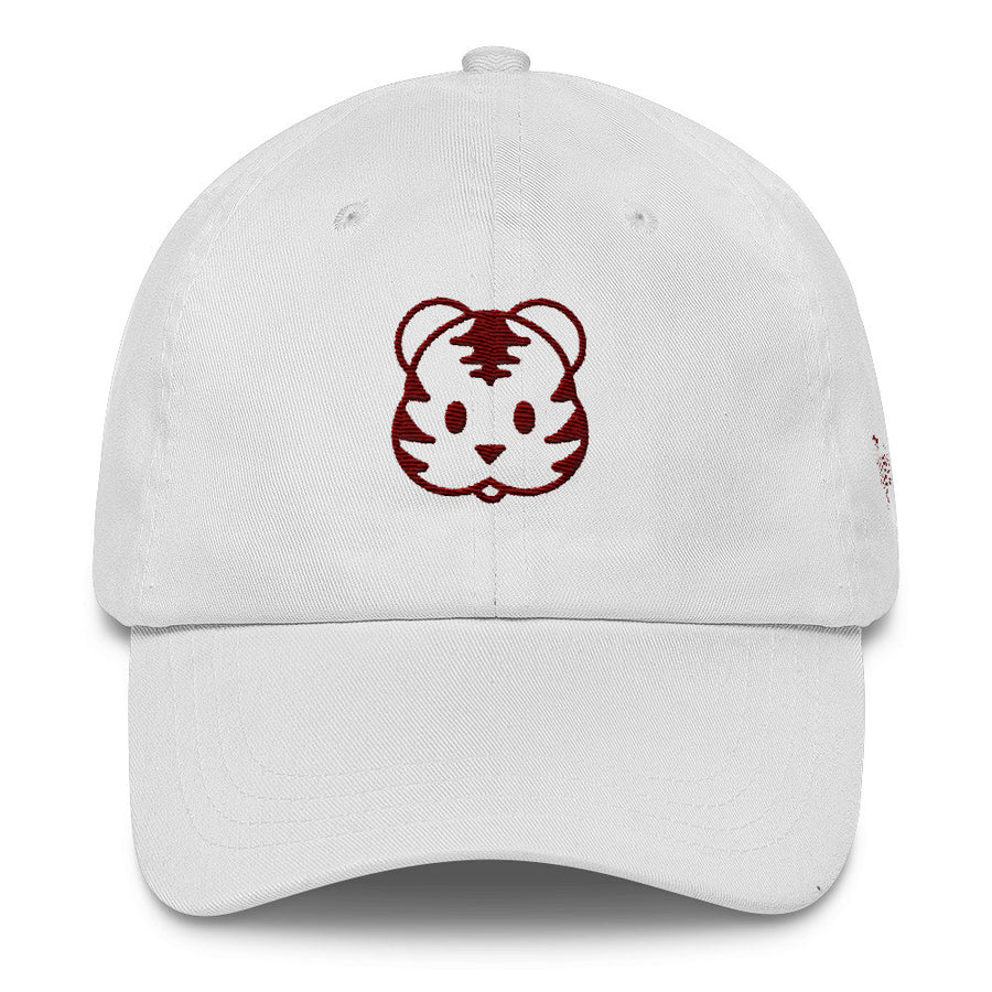 White Tigris Cap/Hat Double wild tigers, Save the tigers