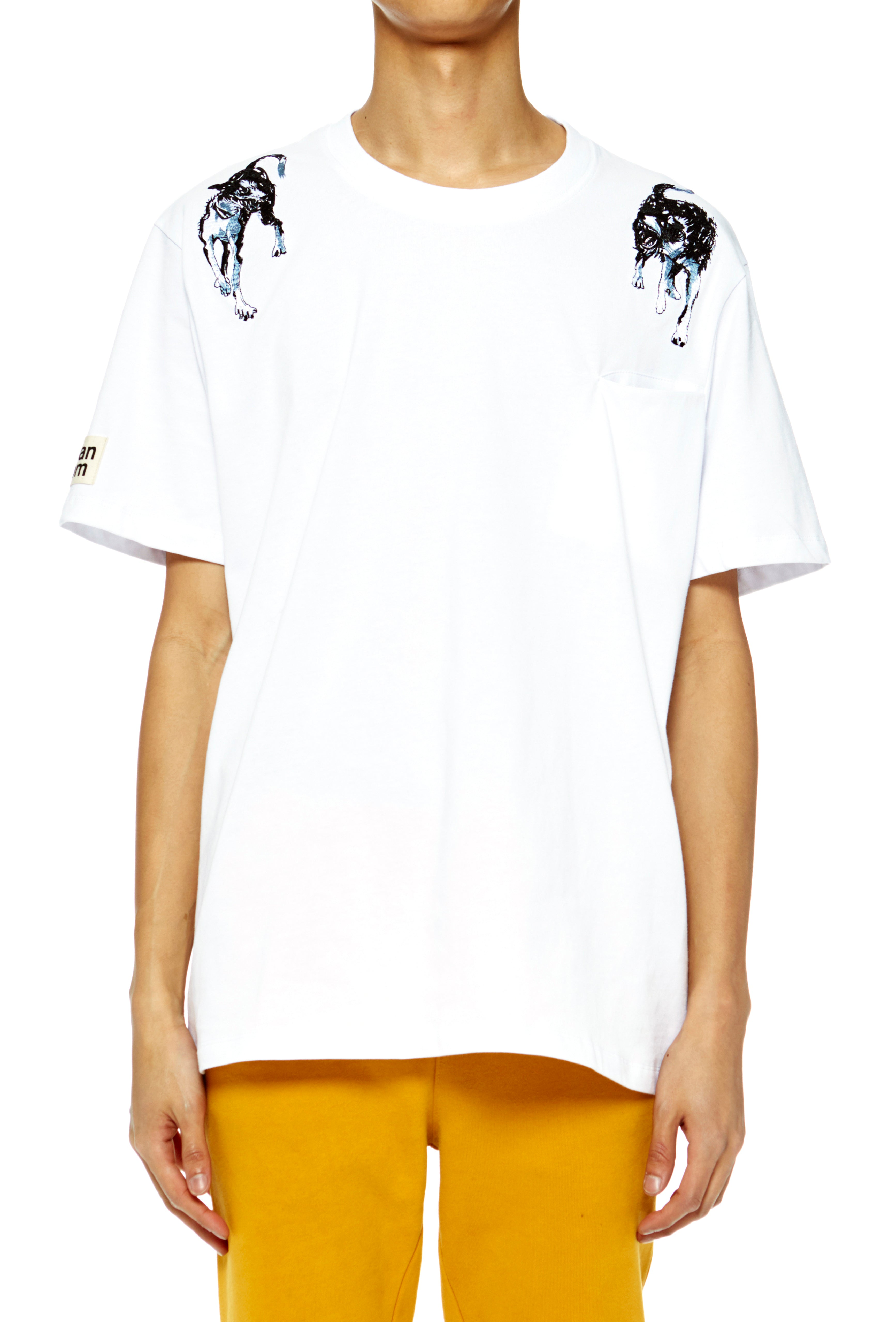 White Rival Dogs T-Shirt