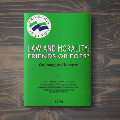 Law and Morality: Friends or Foes?