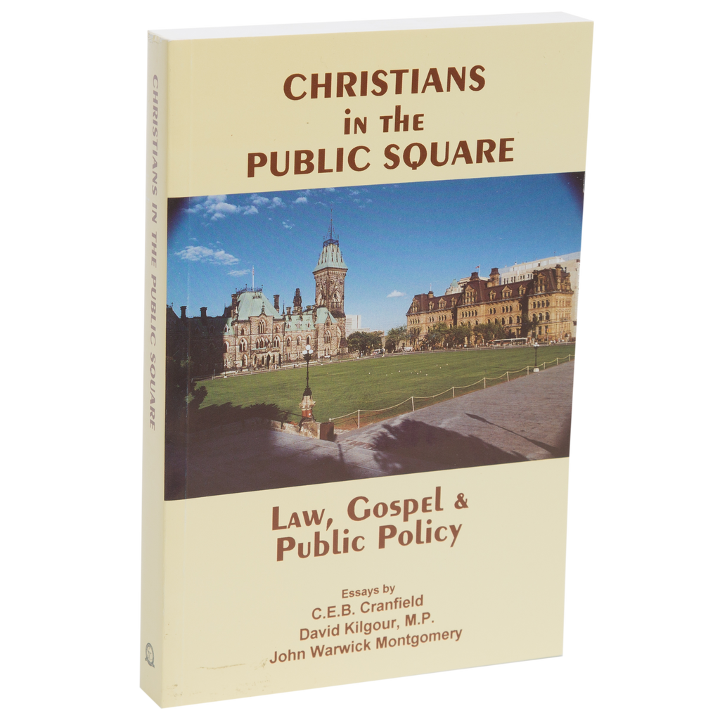Christians in the Public Square: Law, Gospel and Public Policy