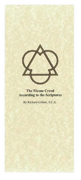 The Nicene Creed According to the Scriptures Pamphlets