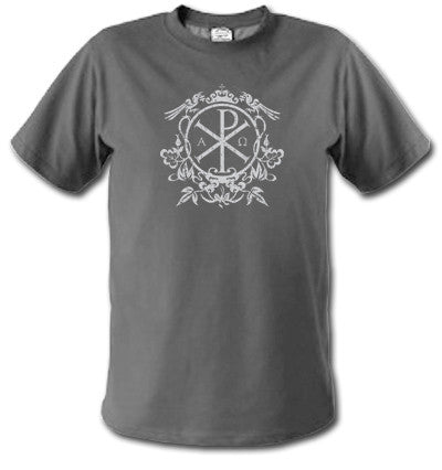 T-SHIRT: Chi Rho (NRP Classic - Limited supply!)