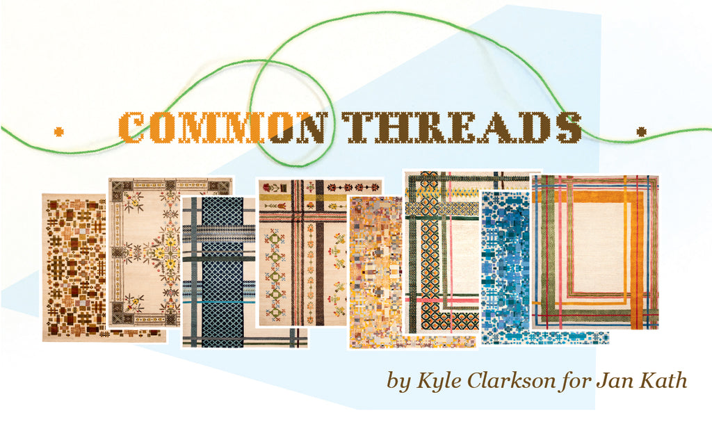 Common Threads collection at Christiane Millinger Handmade Rugs