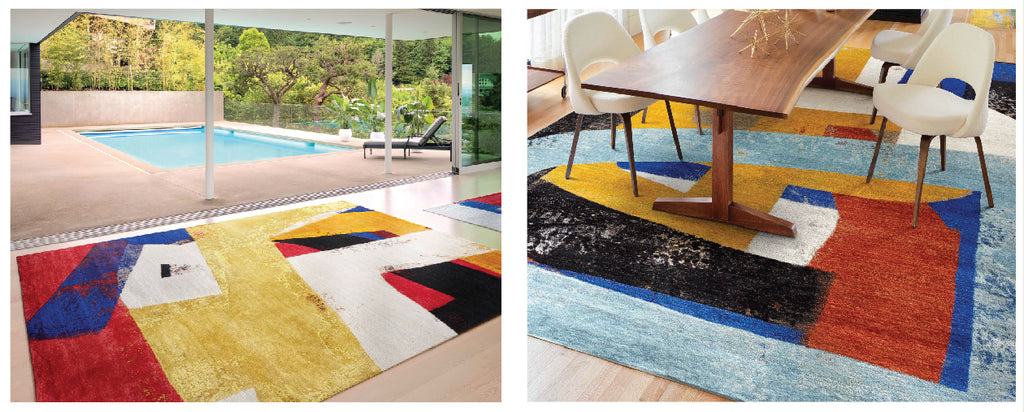 Abstract Rugs in Rooms