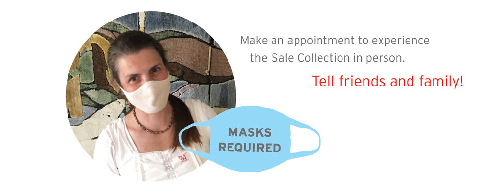 Make an appointment! Masks required.