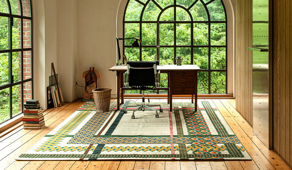 Common Threads rug by Jan Kath