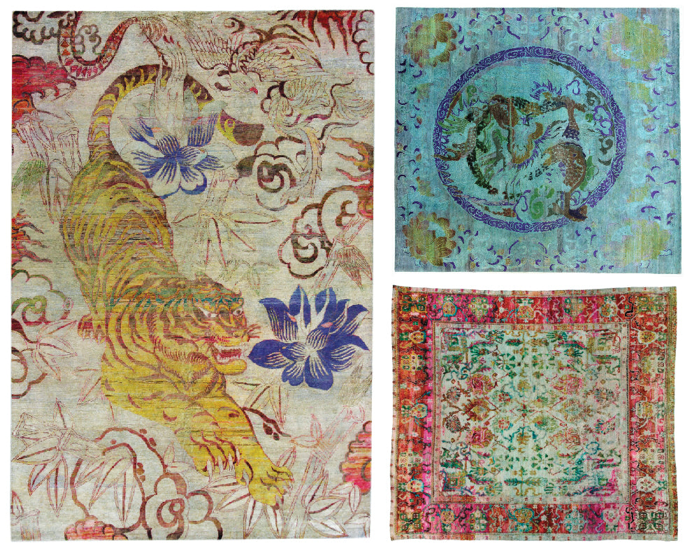 Sari Silk Rugs at Christiane Millinger
