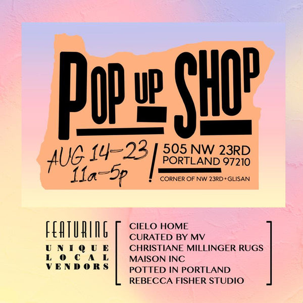 August 2020 Design Pop-Up Shop