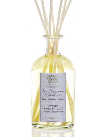 Lavender & Lime Blossom 250 ml Room Diffuser by Antica Farmacista