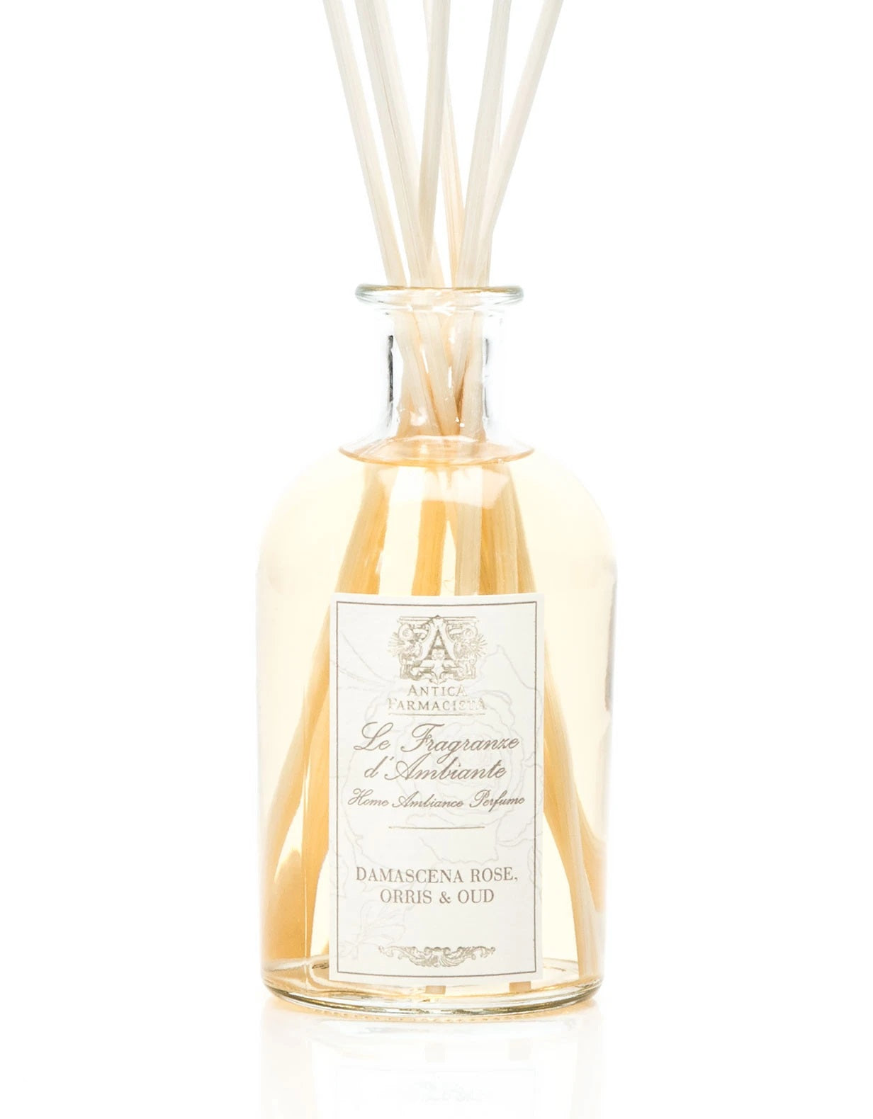 Damascena Rose, Orris & Oud 250 ml Room Diffuser by Antica Famacista