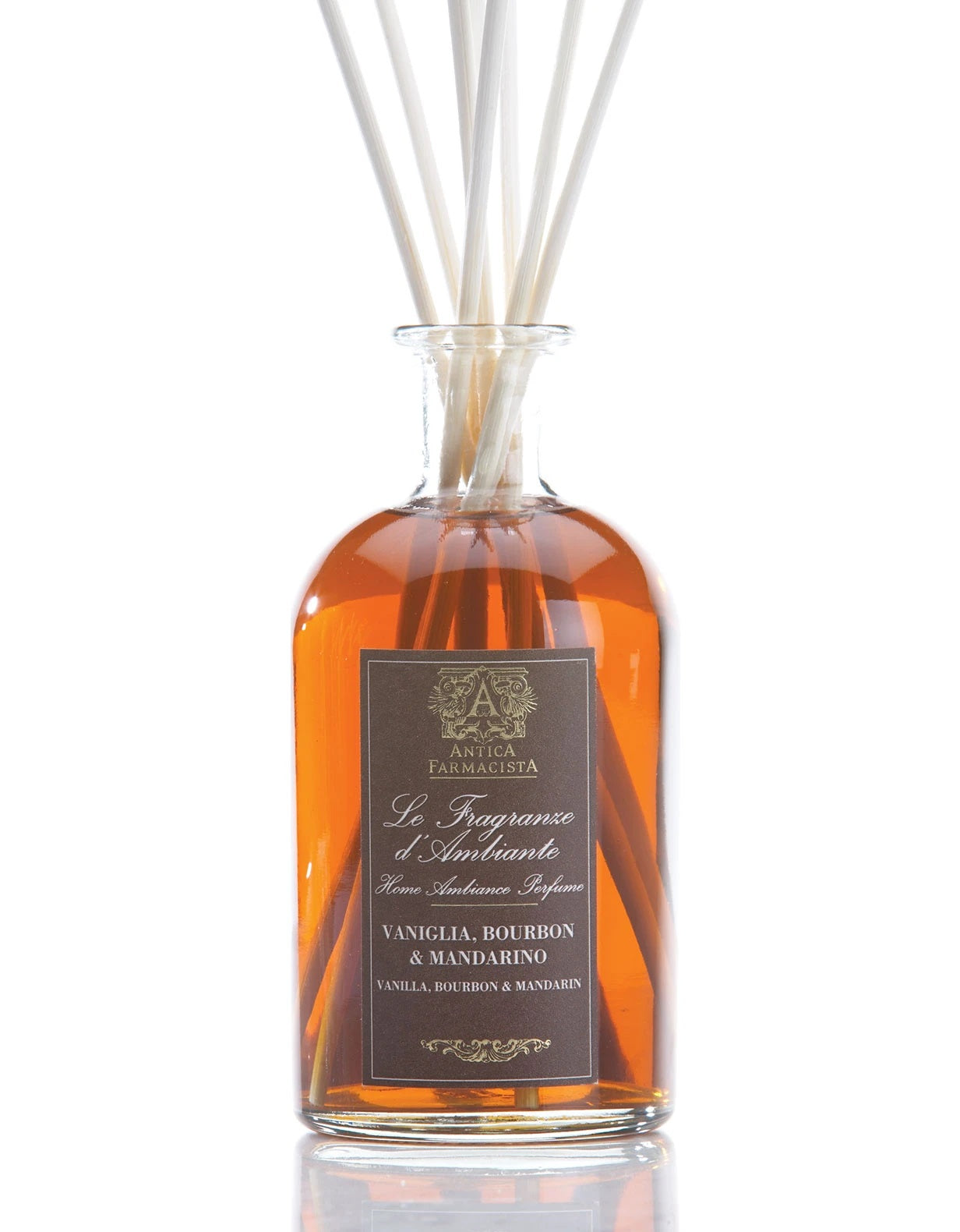 Vanilla, Bourbon & Mandarin 250 ml Room Diffuser by Antica Farmacista