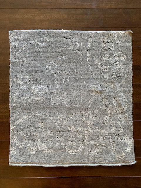 S 6534 Custom Wool and Silk Sample 2' x 2'