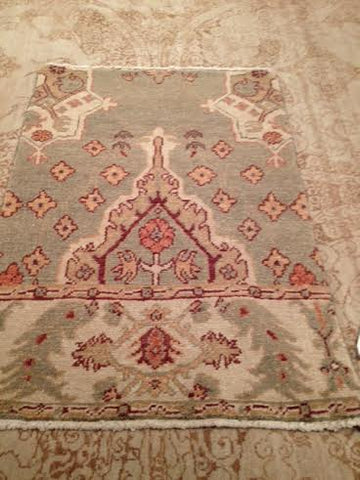 S 6537 Oushak Sample 2' x 3'