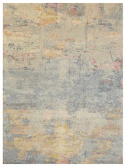 "8222 Reverie ""Sapphire"" by Wool And Silk Rugs 7'11 x 10'"