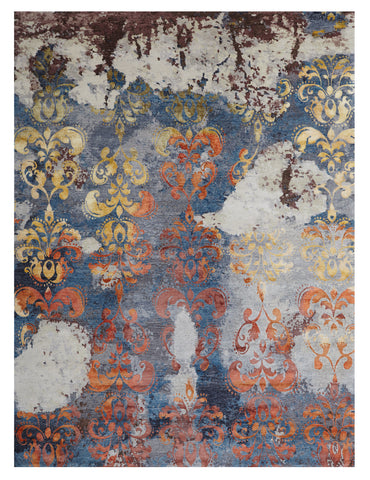 C-0487 Andrea in Love by Wool and Silk Rugs 9' x 12'