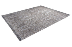 RS-0003 New Classic Pine Garden Charcoal Rug Star Christiane Millinger side