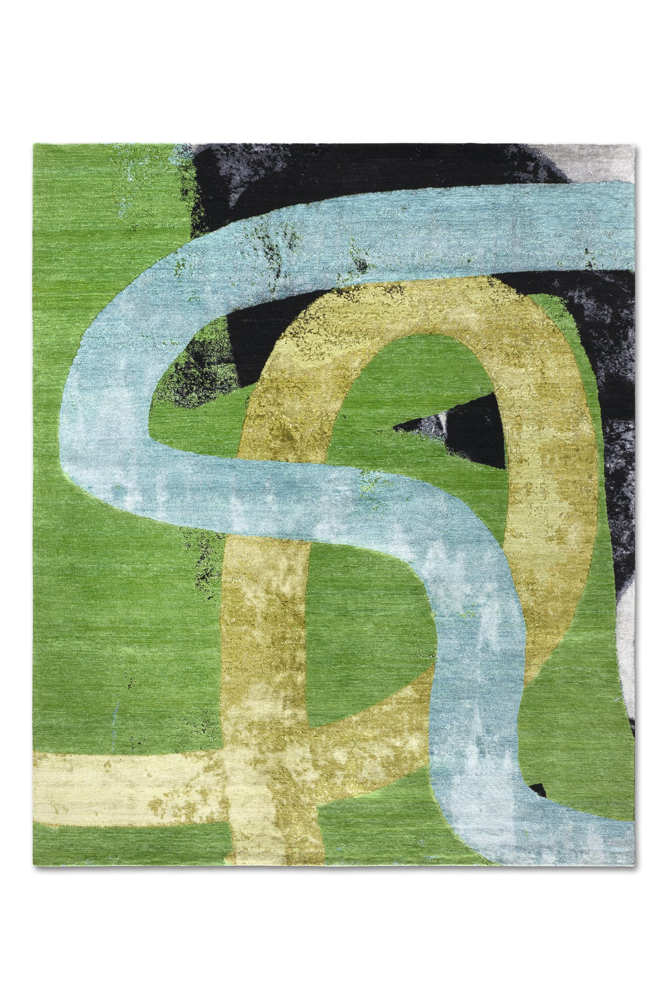 "RS-0113 Michael Howells for Rug Star Color is My DNA EasyMe 06 5'7""x 8'"
