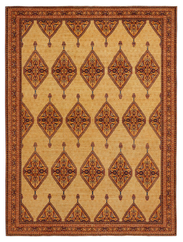 C-0815 Farahan by Wool and Silk Rugs 8' x 10'