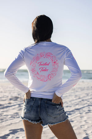 Ocean Floor Ladies Long Sleeve