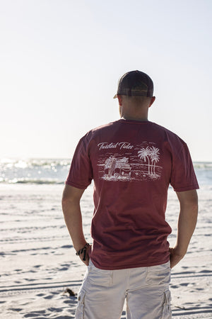 Red Rock Surf's Up Tee