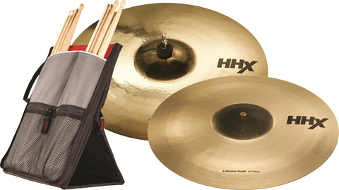 "Sabian HHX-plosion 16"" and 18"" Crash set"