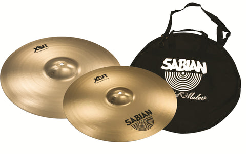 "Sabian XSR 16"" and 18"" Fast Crash set"