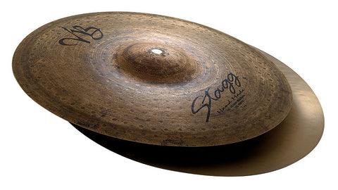 "Stagg Vintage Bronze 13"" Medium Hi Hat"