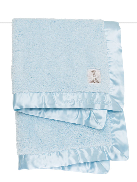Chenille My 1st Blanket - Blue