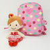 Harness backpack with detachable Doll - Pink