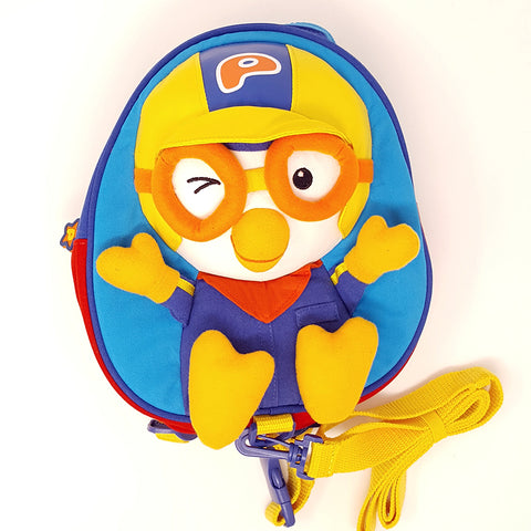 Harness backpack - Pororo Blue