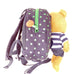 Harness backpack with detachable plush toy- Blue Star Bear