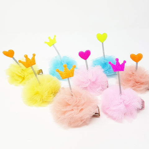 3D sping with Tulle Puff
