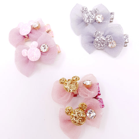 Sparkle  Mouse Clips (set of 2)