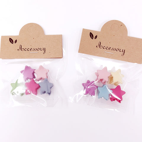 Mini clips (pack of 5) - Star