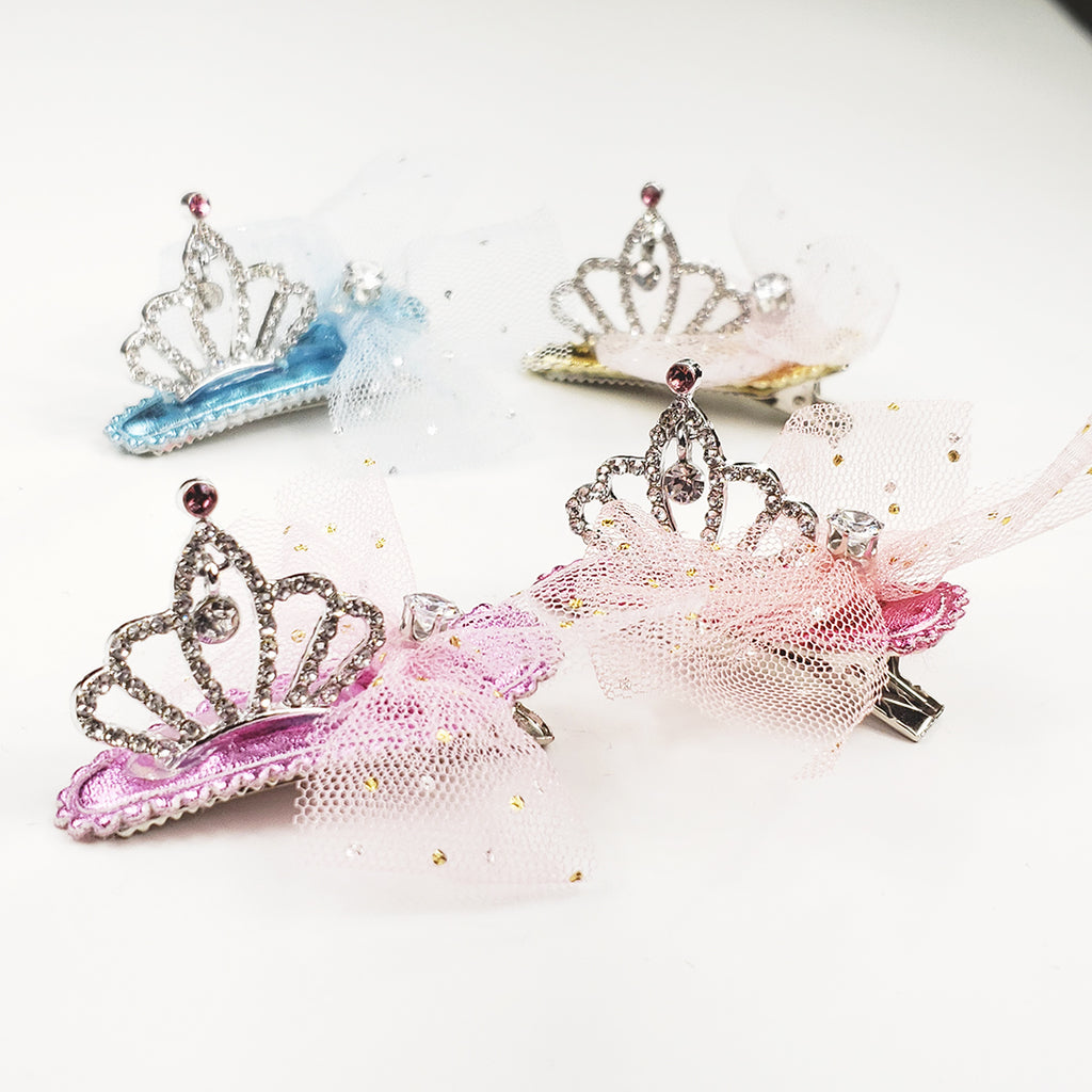 Diamonti Tiara Crown clip