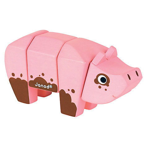 Jura Toys - jeannie n mini baby boutique, AnimalKit- Pig - Jeannie n mini baby boutique