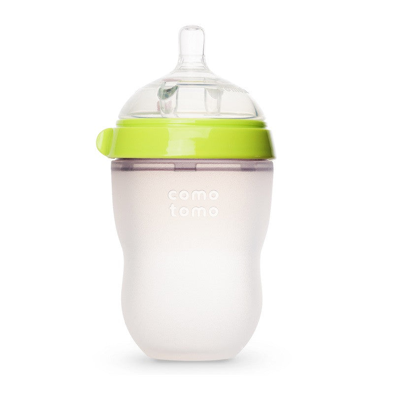 Comotomo Bottle 8oz Green
