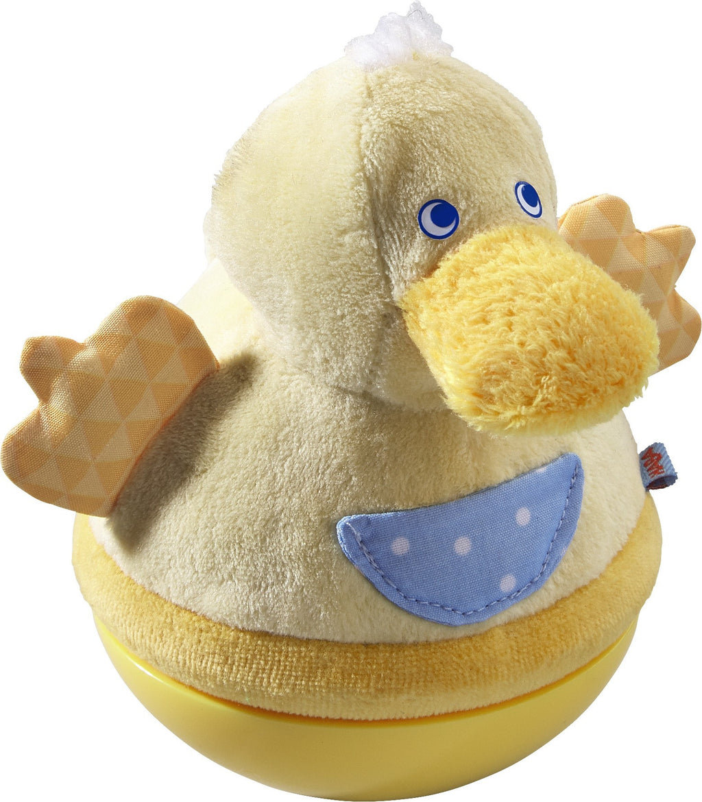 Roly Poly Duck Soft Wobbling & Chiming Baby Toy