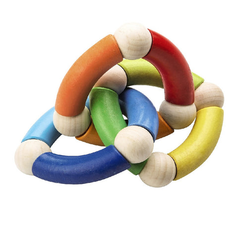 Clutching Toy Ring Trio