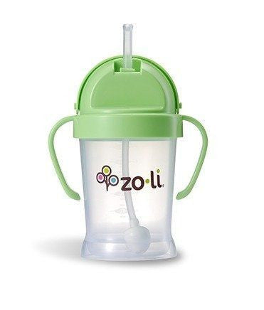 BOT Straw Sippy Cup 6oz Green