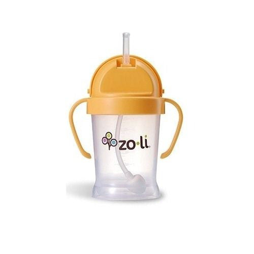 BOT Straw Sippy Cup 6oz Orange