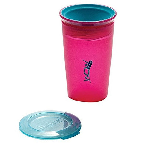 WOW Cup Translucent Pink