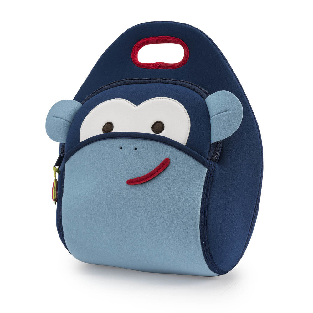 Lunch Bag - Blue Monkey